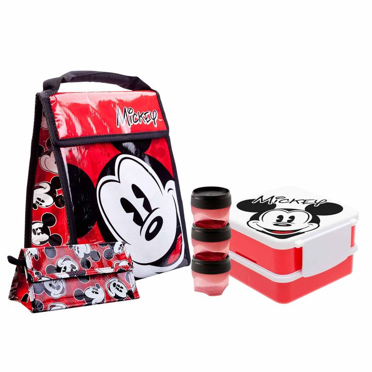 Mickey Mouse Lunch Bag Set
