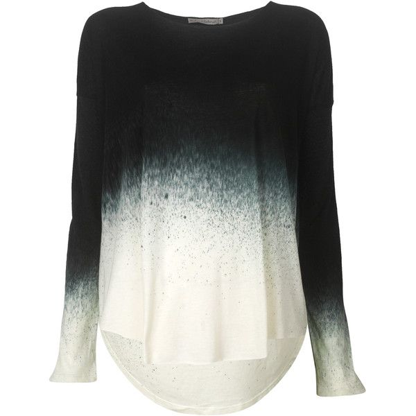 Rabens Saloner Long Sleeve Stardust T-shirt found on Polyvore