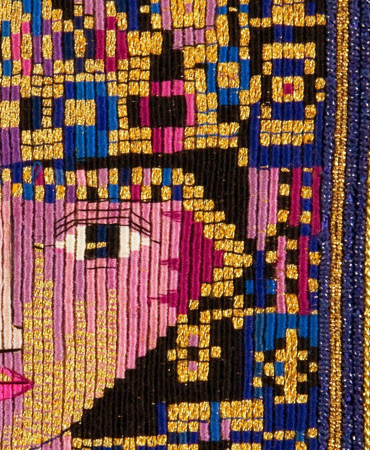 Byzantium by Margaret Nicholson http://www.embroiderersguild.com