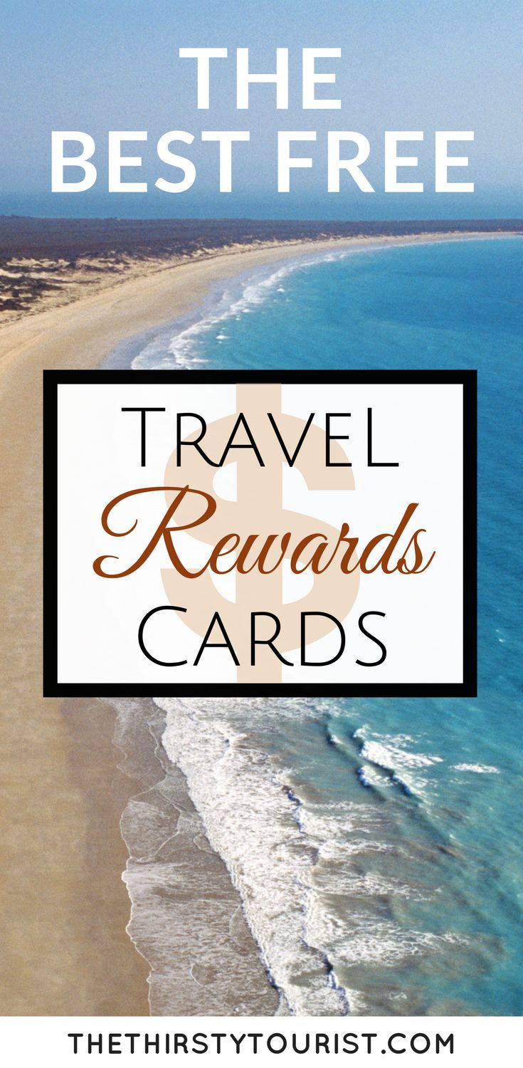 The best way to earn travel points to redeem for free travel is to sign up for these cards! You can use them on everyday purchases and soon enough you'll have enough for that next FREE trip!