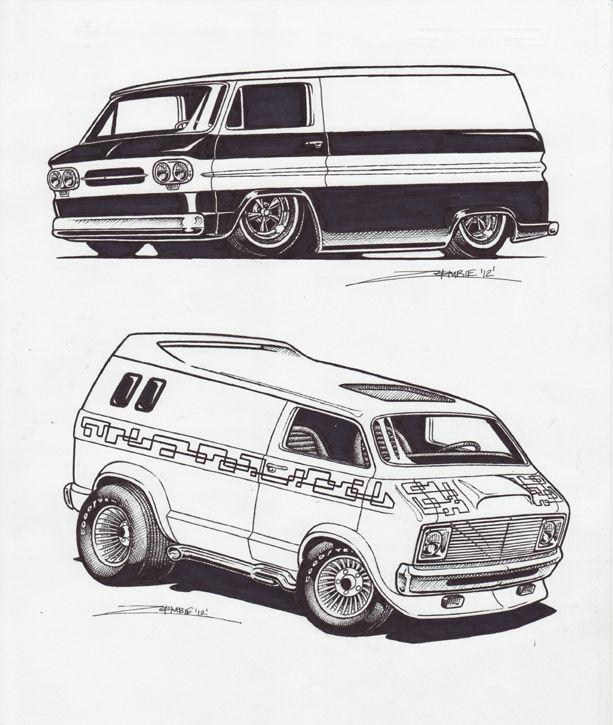 van sketches 3 by zombie72