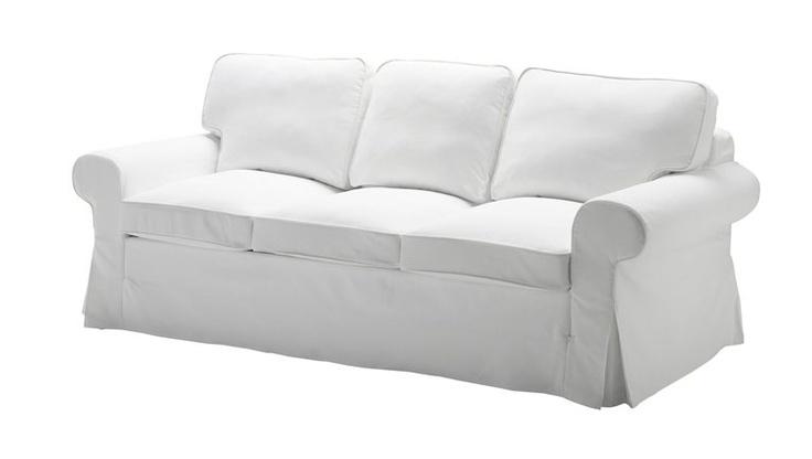 17 migliori idee su arredamento con divano bianco su for Ektorp 3 posti