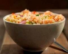 Salade de quinoa aux crevettes (facile, rapide) - Une recette CuisineAZ