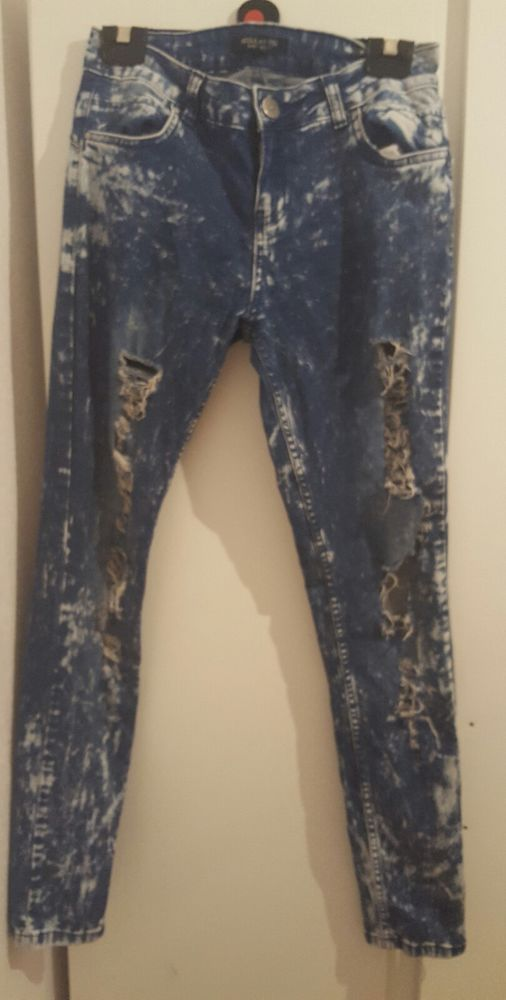 womens ripped jeans size 10 in Clothes, Shoes & Accessories, Women's Clothing, Jeans | eBay!