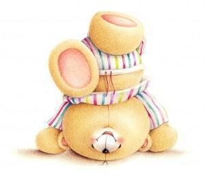 forever friends bear | in 1988 the forever friends bear moved from greetings cards to other ...