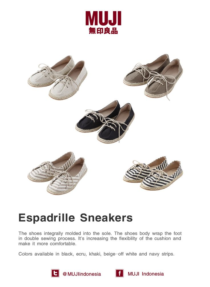 [Espadrille Sneakers] - Colors available in black, ecru, khaki, beige-off white and navy strips.