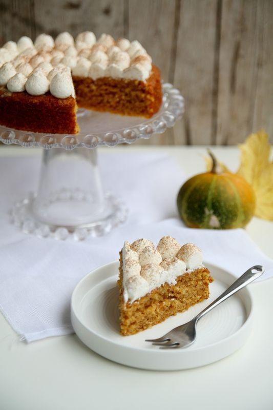 Gâteau à la courge et aux amandes - That's amore
