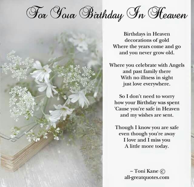 Happy Birthday In Heaven Mom 3/22/45