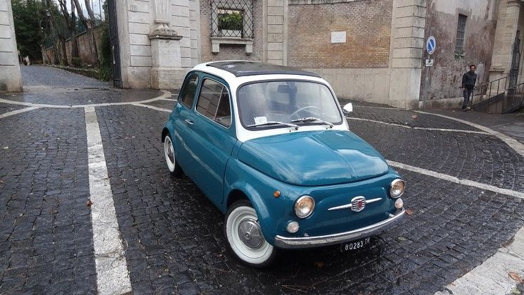 Fiat 500, the classic Italian car that brought Italy into the world auto market.