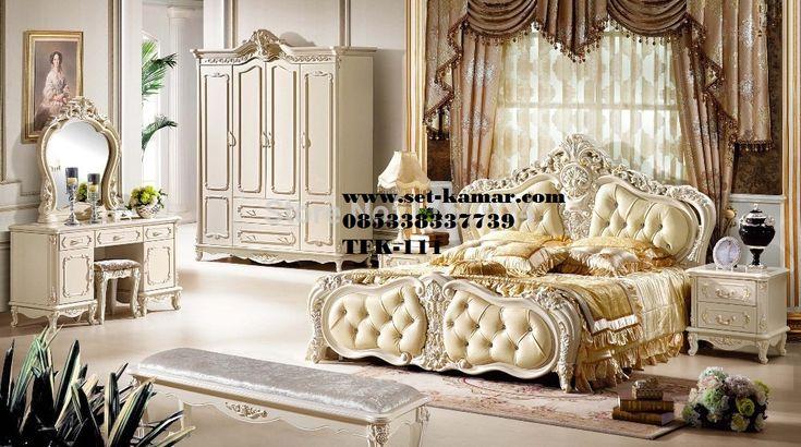 Set Kamar Tidur Utama Klasik Modern