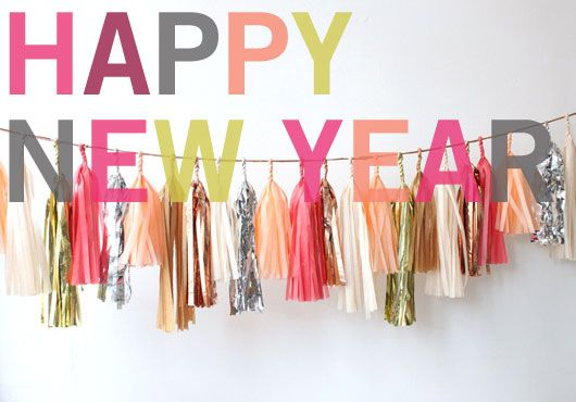 I've been obsessed with this tassel garland since seeing it in the J Crew window last year!