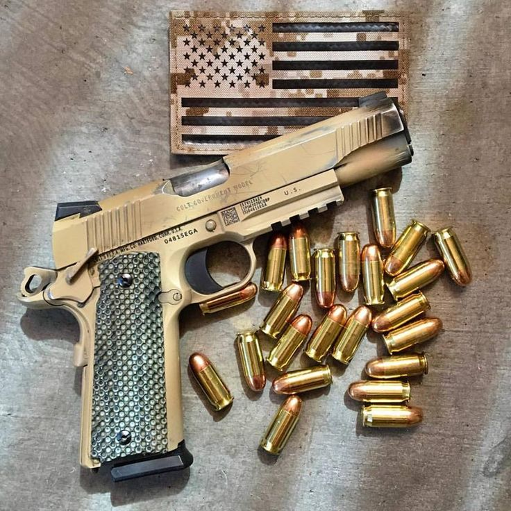 Colt M45 1911 used by Marine Special forces MARSOC