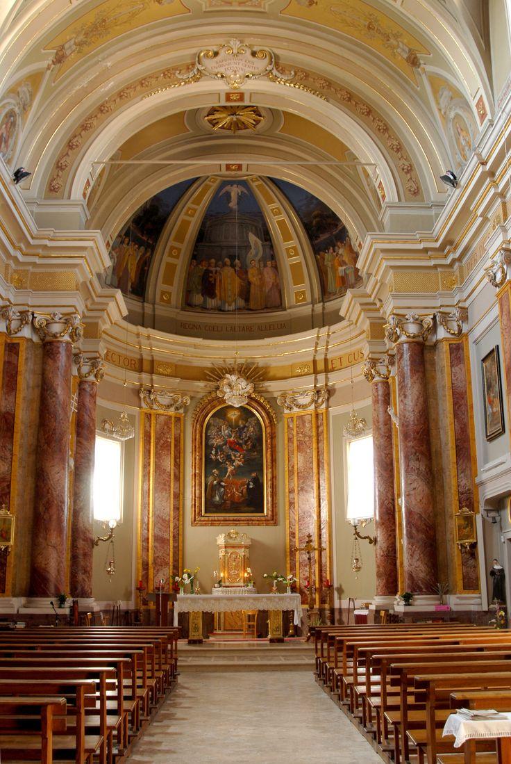 Chiesa di S Gregorio Magno interno #marcafermana #maglianoditenna #fermo #marche