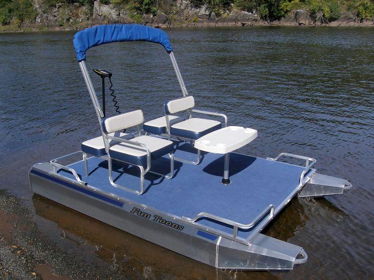 Best 25 mini pontoon boats ideas on pinterest pontoon for Walmart fishing boats