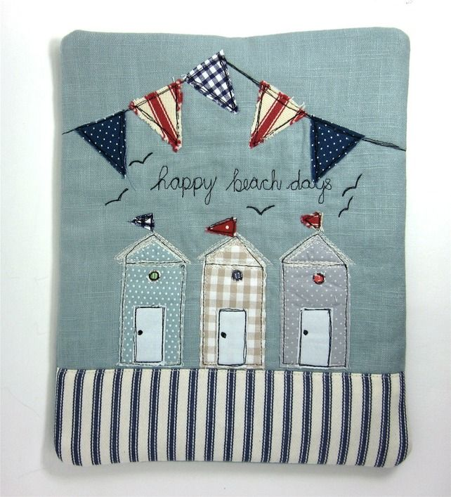 iPad Cover Beach Huts and Bunting £23.00