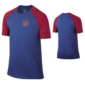 Nike Barcelona Match Soccer Tee (Royal Blue - 2016/17): http://www.soccerevolution.com/store/products/NIK_43268_A.php