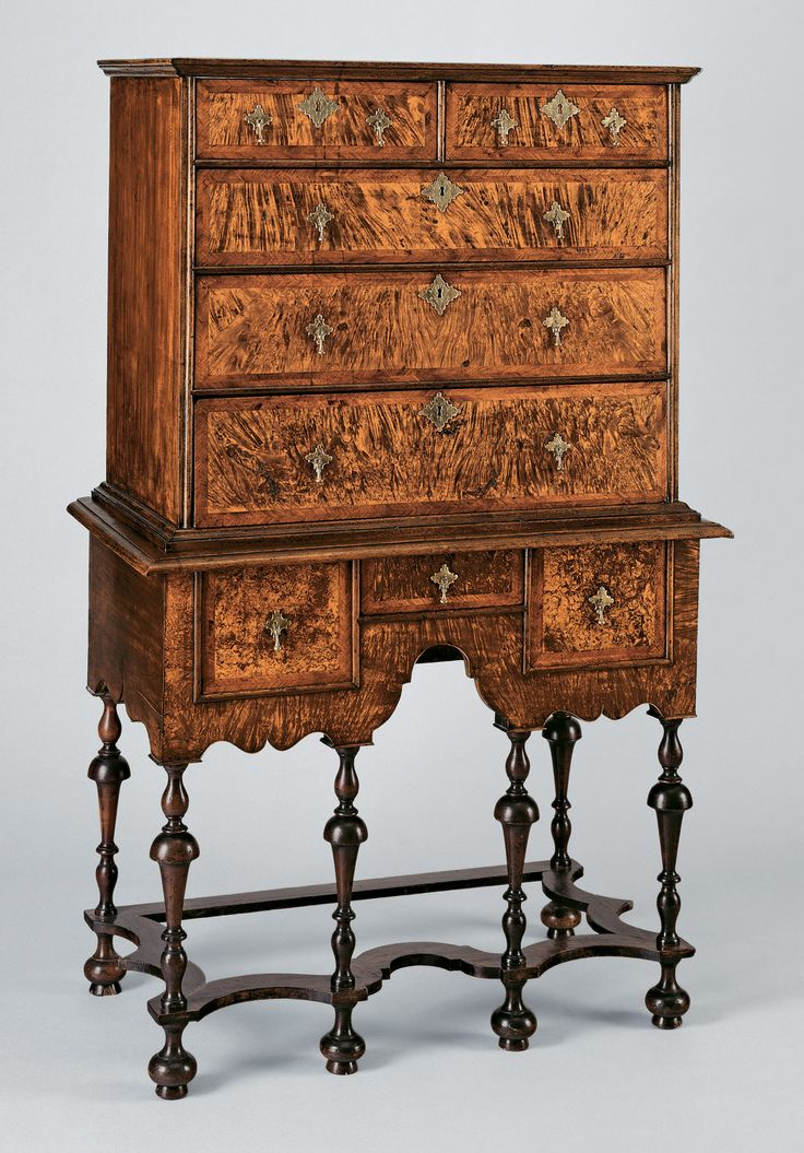 American Furniture, 1620–1730: The Seventeenth-Century and William and Mary Styles..Metmuseum.org....High chest of drawers