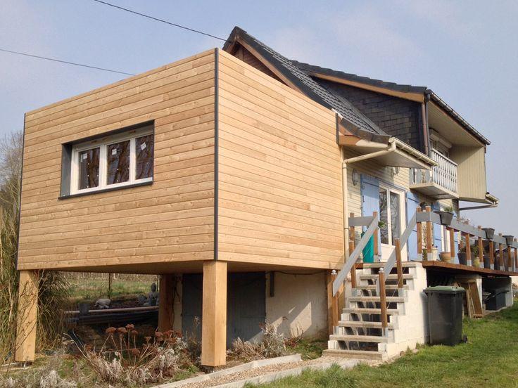 Best 20 extension ossature bois ideas on pinterest for Prix d une extension de maison en bois