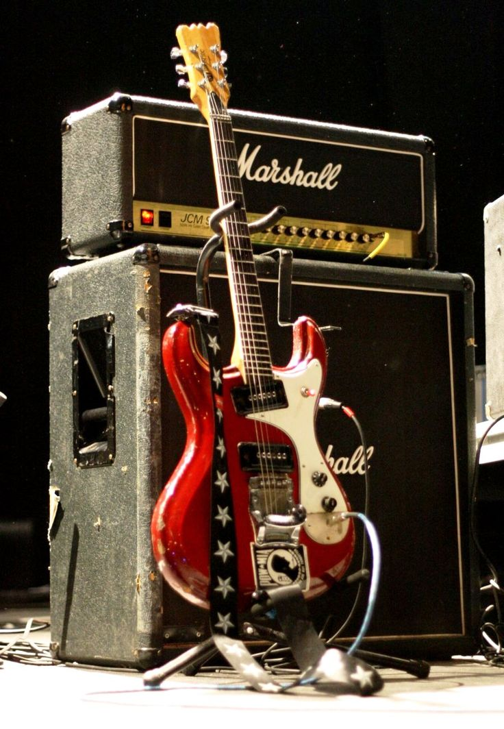 458 best guitar images on pinterest electric guitars guitar red mosrite guitar equipped with pickups plugged into a jcm 900 amp asfbconference2016 Images