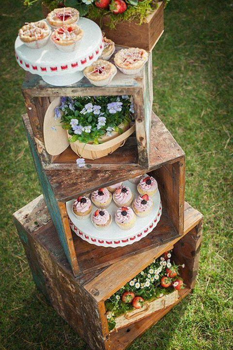 mesa dulce campestre