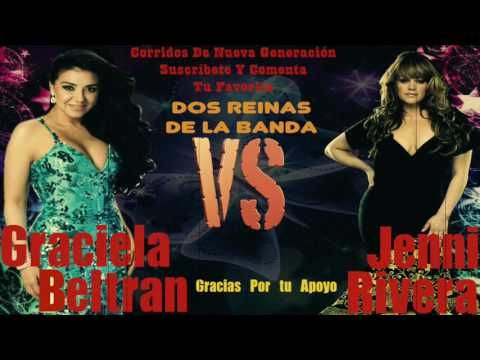 Graciela Beltran VS Jenni Rivera... [Banda Mix 2017] - YouTube