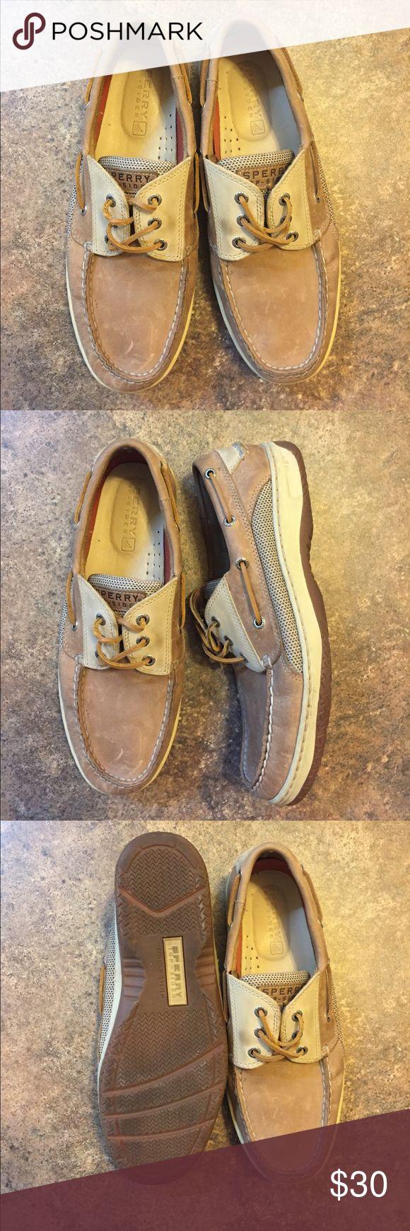 Sorry top siders, Men Tan speedy slip on/loafers men shoes. Gently worn. Like new. Very very comfortable. Sperry Top-Sider Shoes Flats & Loafers