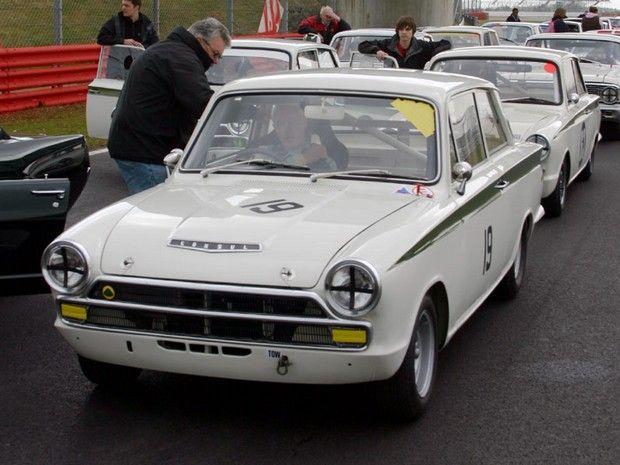 1966 ford lotus cortina racing car