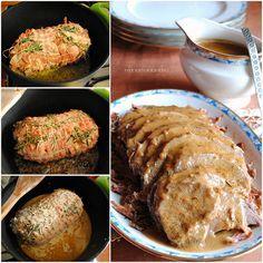Rosemary Roasted Pork Roast with Gravy