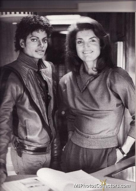 Michael with Jackie O