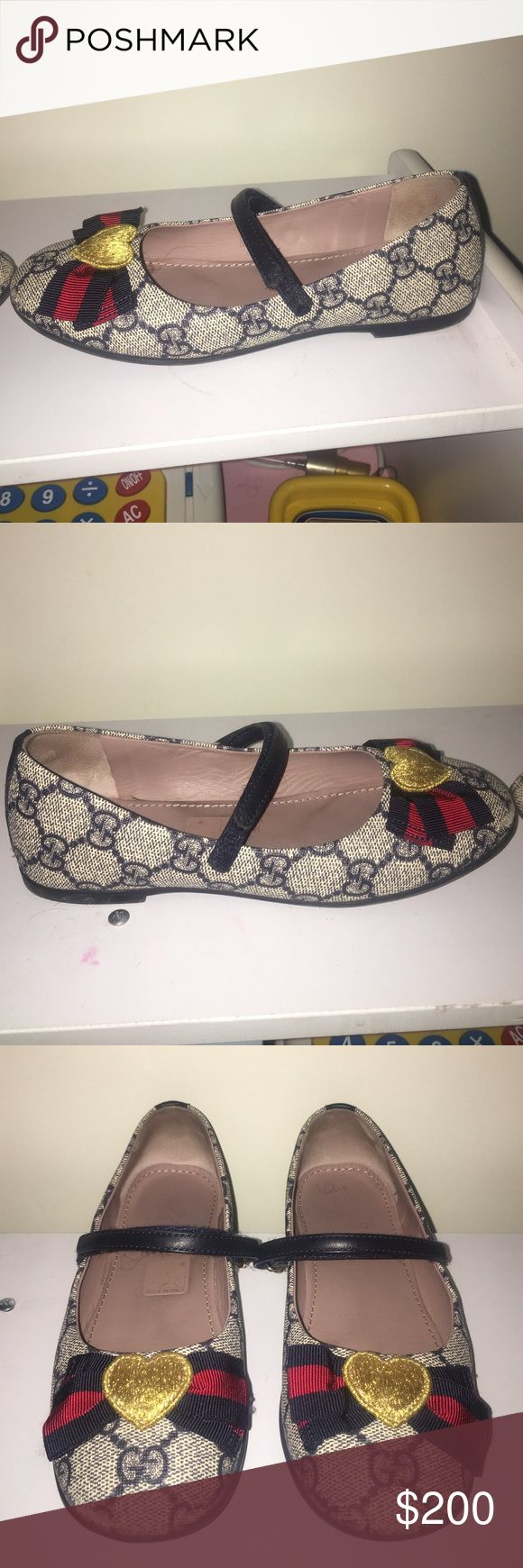 Kids Gucci shoes Kids Gucci shoes 2016 season! Worn THREE TIMES Gucci Shoes Flats & Loafers
