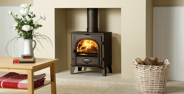 17 best images about toasty by the fire on pinterest - Living room with wood burning stove ...