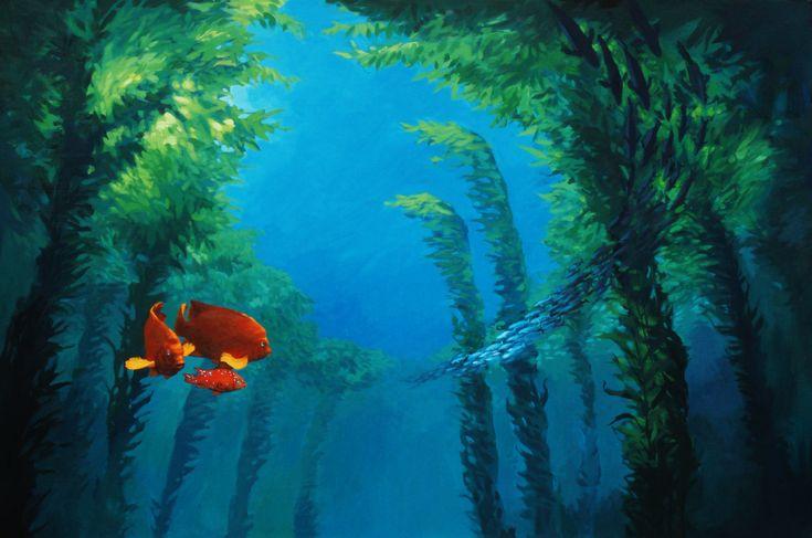 kelp forest kelp forest oceans photo 34416306