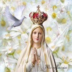 Virgen de Fátima oración para pedir un milagro de salud #virgen #fátima #oración #pedir #milagro #salud
