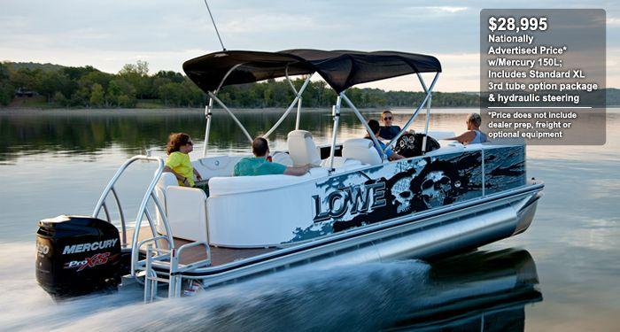 Lowe Boats - X-Series X230 Cruise | Best Lowe Pontoon Boats : 2013