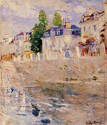 Berthe Morisot Bords de Seine (1883)
