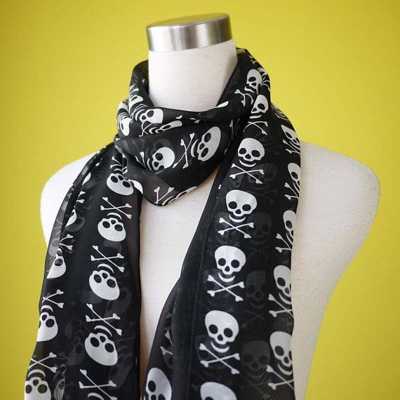 one can never have too many skull scarves it's true...