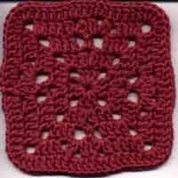 6 inch Happy Clusters Square: Motiff Granny, Clusters Square, Crochet Squares, Granny Motifs, Granny Squares, Crochet Square Patterns, Craft Ideas, Crochet Motiff