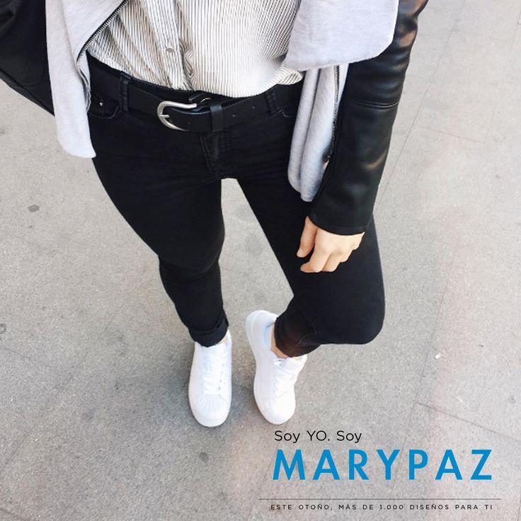 #Shoelfie by @andreaarey_ dispuesta a tener un gran día 😊 ¿¿Estás ya preparada??  Hazte con esta DEPORTIVA PUNTERA aquí ►http://www.marypaz.com/trendy/deportiva-tendencia/deportiva-punta-reforzada-01901bw151206-74647.html  💕 Soy YO. Soy MARYPAZ 💕 ¡¡Más de mil diseños para ti!!  #SoyYoSoyMARYPAZ #Follow #winter #love #otoño #fashion #colour #tendencias #marypaz #locaporlamoda #BFF #igers #moda #zapatos #trendy #look #itgirl #invierno #AW16 #igersoftheday #girl #autumn   Disponibles en