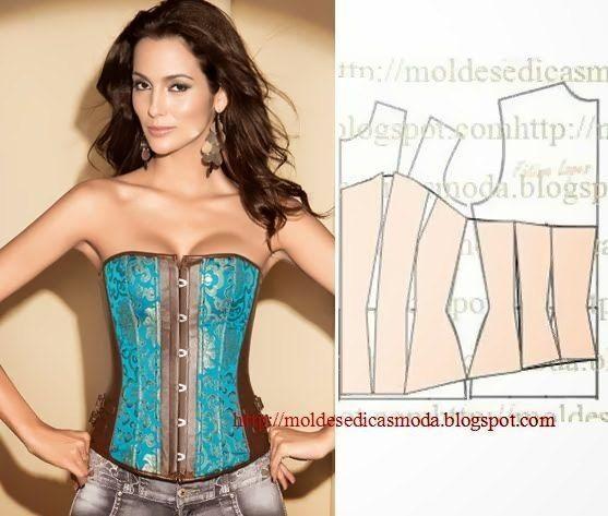 Como hacer un corset con moldes06