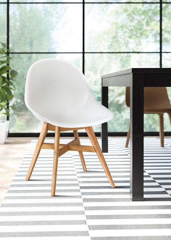 Silla FANBYN de Ikea para comedores nórdicos.  sillasdediseño  diseño   sillasikea  estiloydeco 2d5712bfcf9c