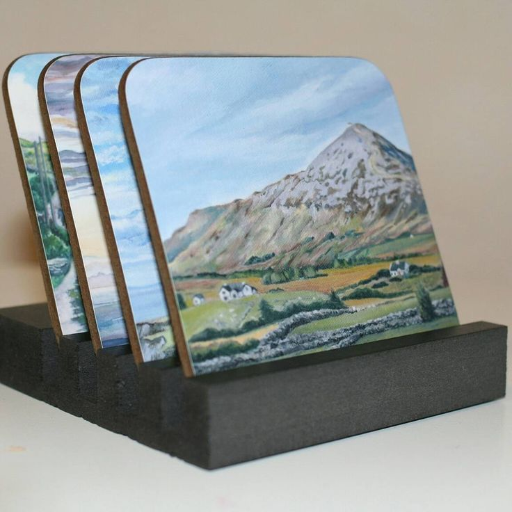 My Croagh Patrick painting is now available on a range of printed gifts from @Zippi  Please take a look to see the whole range of items available:  https://www.zippi.co.uk/portfolio/suzannehole/croagh-patrick  Croagh Patrick, County Mayo, Ireland. From an original oil painting by Suzanne Hole.  People make pilgrimage to this holy mountain. I was inspired to paint the interesting patchwork of fields, stone walls and cottages beneath this impressive mountain. I enjoyed painting the detailed…
