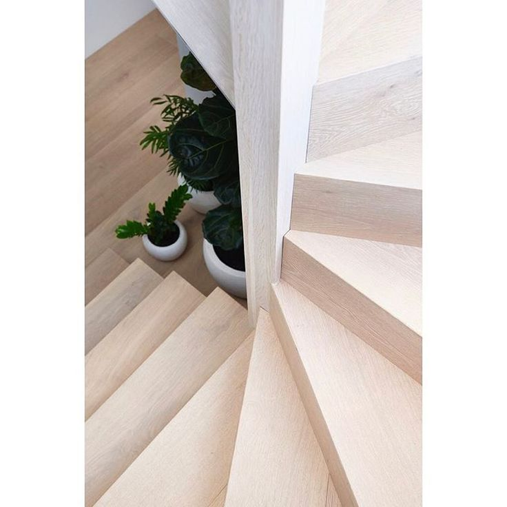 White Wash | Stairs wrapped in oak, built by @stair.s finished by @kustomtimber