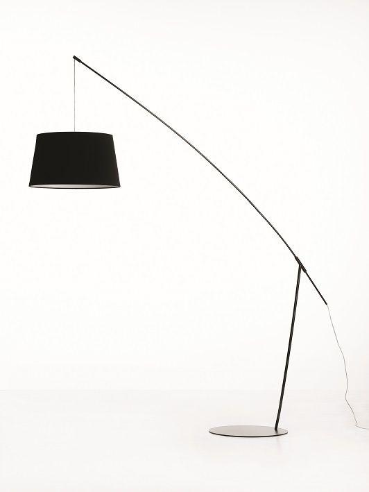 Crane floorlamp