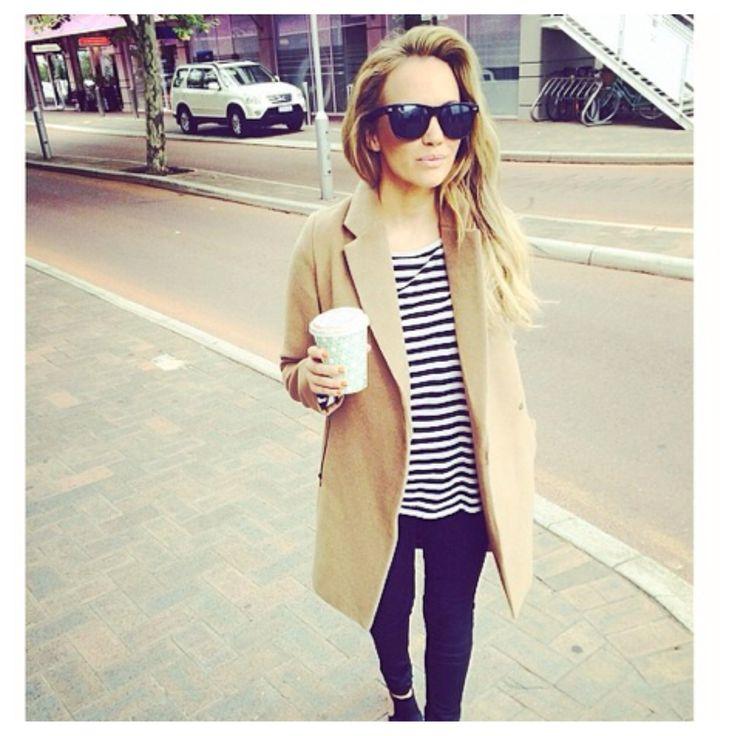 Camel & stripes - Samantha Jade