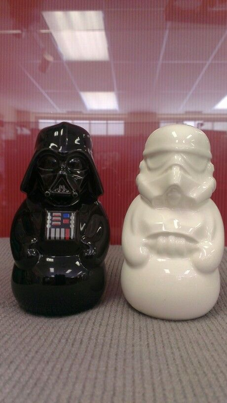 Star Wars™: Darth Vader™ and Stormtrooper™ - salt and pepper shaker set. $19.95