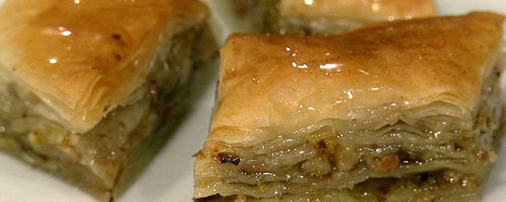 Baklava!! The Chew TV Show - Michael Simon's Recipe! A delicious Middle Eastern dessert!