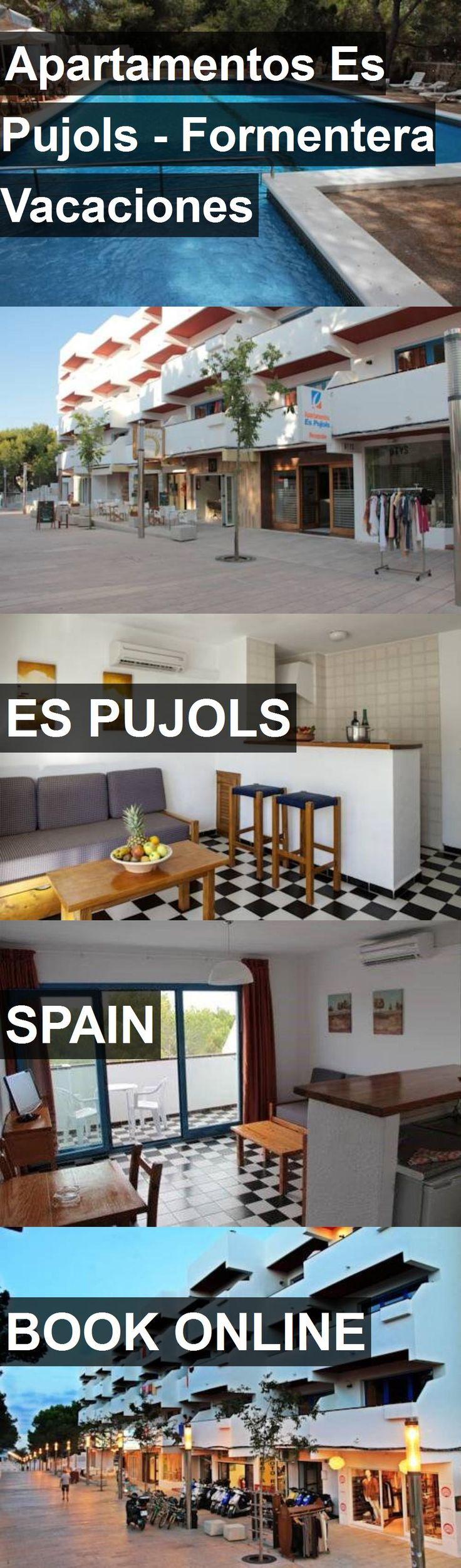 Hotel Apartamentos Es Pujols - Formentera Vacaciones in Es Pujols, Spain. For more information, photos, reviews and best prices please follow the link. #Spain #EsPujols #travel #vacation #hotel