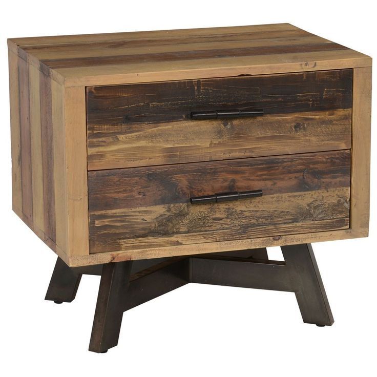 ... https://www.zinhome.com/farmhouse-2-drawer-reclaimed-wood-nightstand