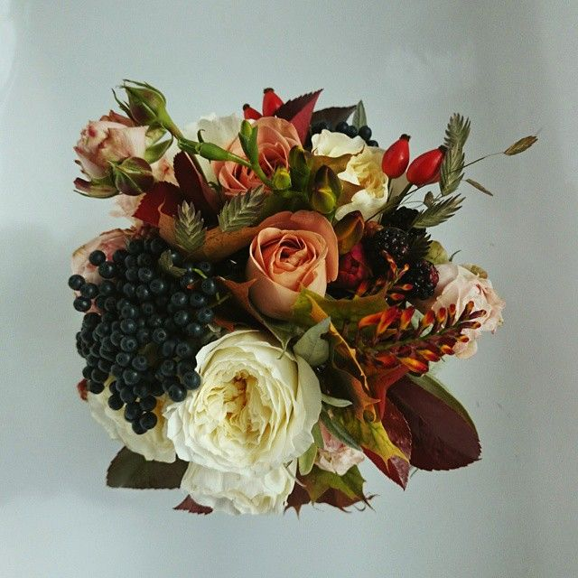 new autumn bouquet