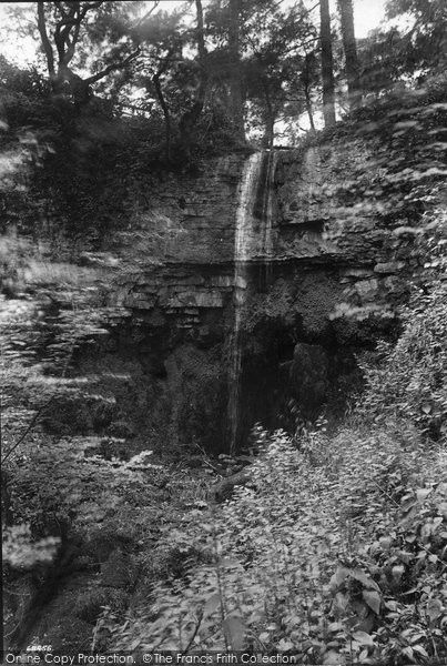 West Witton, Waterfall 1911, from Francis Frith